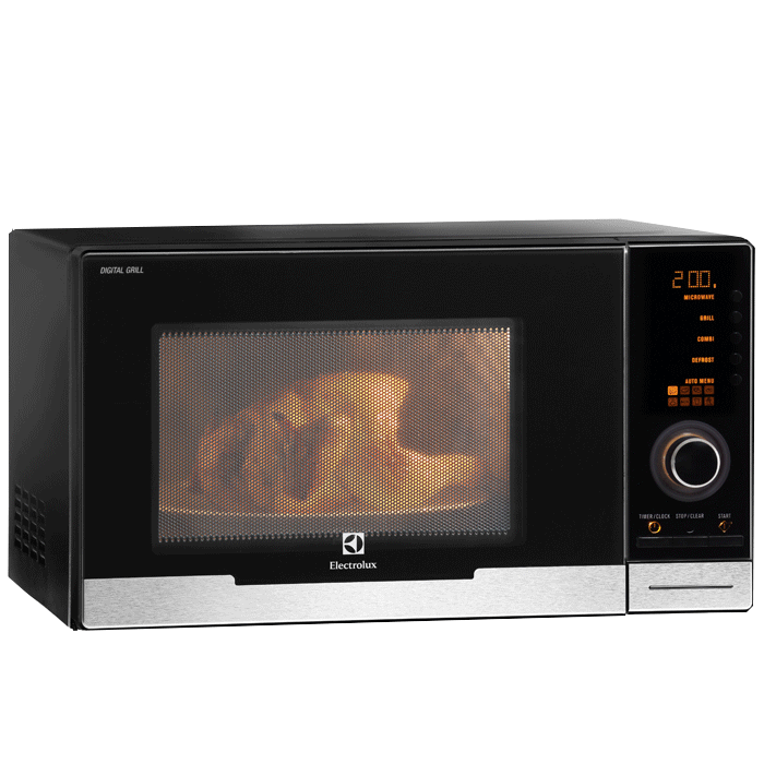 23l table top microwave with grill ems2348x electrolux singapore rh electrolux com sg Electrolux Microwave Convection Oven electrolux microwave oven operating manual