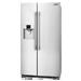 Refrigerador Side by Side No Frost / 26 cuft - Color Acero - 120V/60Hz