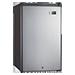 Refrigerador Compacto de 125L / 4.5 Cuft - Color Acero - 115V/60Hz