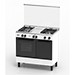 3 Gas Burners Freestanding Cooker (Multi-Function Electric Oven Cooker)