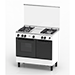 4 Gas Burners Freestanding Cooker (Gas Oven Cooker)